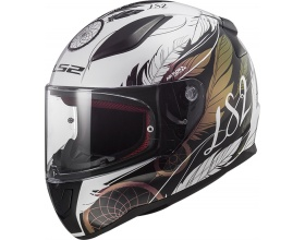 LS2 Rapid FF353 Boho white/black/pink