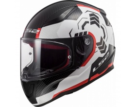 LS2 Rapid FF353 Ghost white/black/red