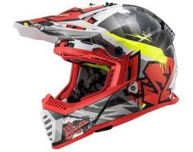 LS2 Fast Evo MX437 Crusher black/red