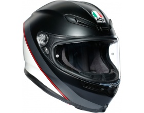 AGV K6 Minimal mat black/white/red