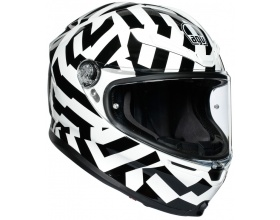 AGV K6 Secret black/white