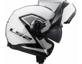 LS2 Strobe FF325 Civik white/black