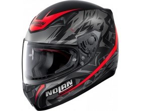 NOLAN N60-5 Metropolis 74 flat black/red