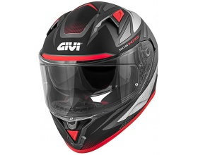 GIVI H50.6 Stoccarda Follow titanium/silver/red