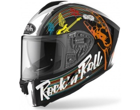 AIROH Spark Rock 'n' Roll black gloss