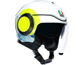 AGV Orbyt Sunset white/yellow fluo