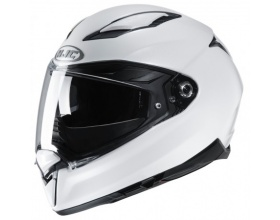 HJC F70 Solid Pearl White