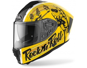 AIROH Spark Rock 'n' Roll yellow gloss