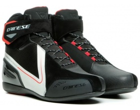 DAINESE Energyca D-WP™ black/white/lava red