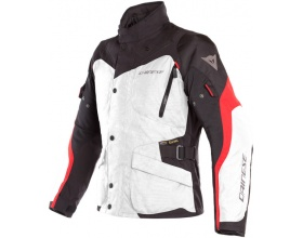 DAINESE Tempest 2 D-Dry™ light gray/black/tour red