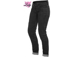DAINESE Denim Slim Lady Tex pants black