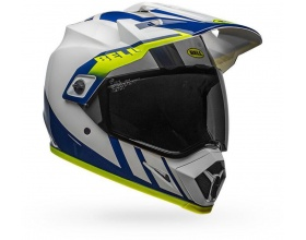 Bell MX-9 Adventure Mips Dash white/blue Hi-Viz