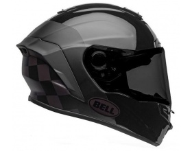Bell Star DLX Mips Lux Checkers black/grey gloss + φιμέ ζελατίνα