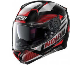 NOLAN N87 N-Com® Jolt 101 metal black/red