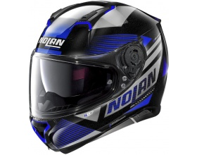 NOLAN N87 N-Com® Jolt 102 metal black/blue