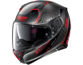 NOLAN N87 N-Com® Sioux 105 flat black/red