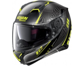 NOLAN N87 N-Com® Sioux 106 flat black/yellow