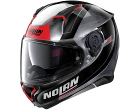 NOLAN N87 N-Com® Skilled 100 scratched chrome