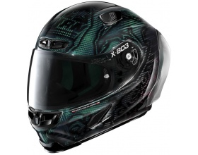 X-LITE X-803 RS Ultra Carbon 25 Casey Stoner Superhero Replica green/red
