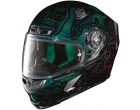 X-LITE X-803 Ultra Carbon 18 Casey Stoner Superhero Replica green/red